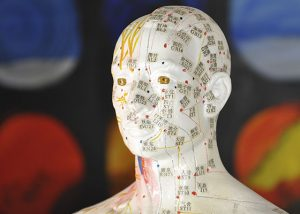 Akupunkturpunkte an Kopf (Figur)
